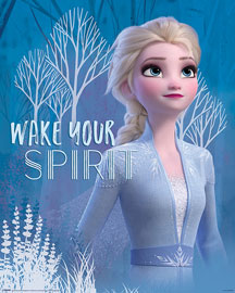 Poster - Frozen 2 Wake Your Spirit Elsa