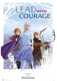 Poster - Frozen 2 Lead with Courage