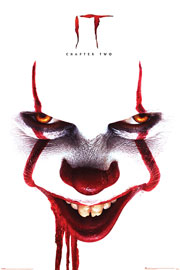 Poster - Stephen King's - ES 2 - Pennywise  Face