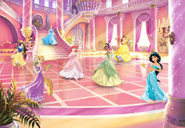 Poster - Disney Princess Glitzerparty