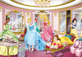 Poster - Disney Princess Mirror