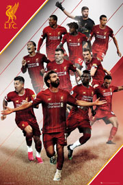 Poster - Fußball FC Liverpool - Players 19/20