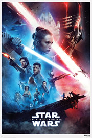 Poster - Star Wars Rise Of Skywalker - Saga