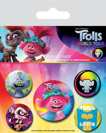 Poster - Trolls World Tour - Powered By Rainbow
