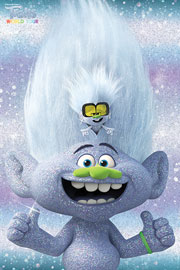 Poster - Trolls  World Tour - Guy Diamond and Tiny