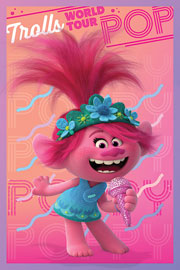 Poster - Trolls  World Tour - Poppy