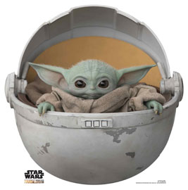 Poster - Star Wars The Mandalorian - Baby Yoda Pod
