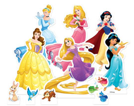 Poster - Disney Princess Table Tops