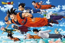 Poster - Dragon Ball Super Flying