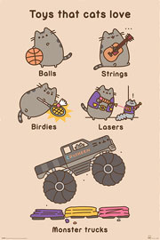 Poster - Pusheen Toys for Cats