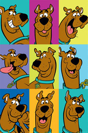 Poster - Scooby Doo The Many Faces