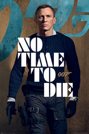 Poster - James Bond 007 No Time To Die - James Stance