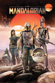 Star Wars The Mandalorian - Group