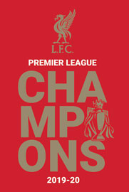 Poster - FC Liverpool Champions 2019/20 Logo
