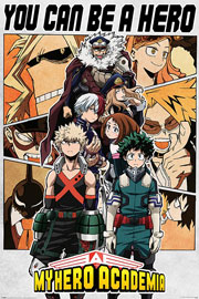 Poster - My Hero Academia Be a Hero