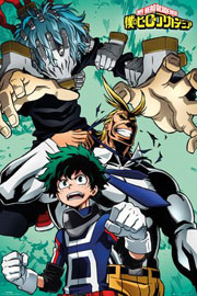 Poster - My Hero Academia Collage