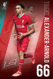 Poster - FC Liverpool Alexander Arnold 20/2021 Season
