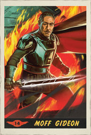 Star Wars The Mandalorian - Moff Gideon Card