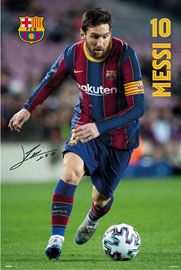 Poster - FC Barcelona 2020/2021 Messi
