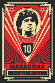 Poster - Maradona Hand of God
