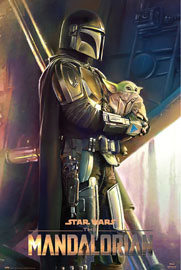 Poster - Star Wars The Mandalorian - Clan of two