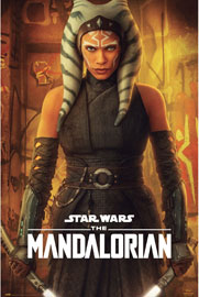 Poster - Star Wars The Mandalorian - Ahsoka Tano