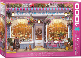 1000 Teile Puzzle Cups Cakes & Co. by G.Walton