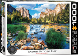 Poster - 1000 Teile Puzzle Yosemite National Park