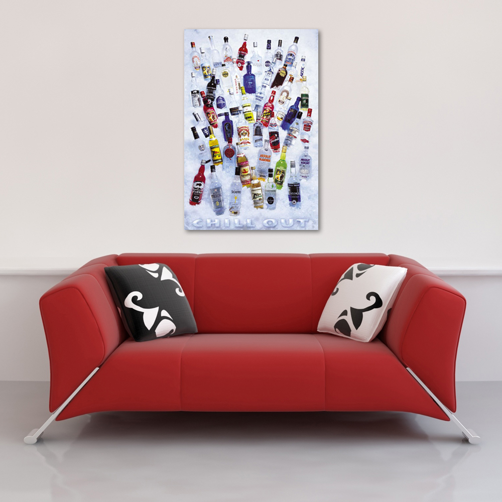 Vodka - Poster - chill out Vorschau Sofa
