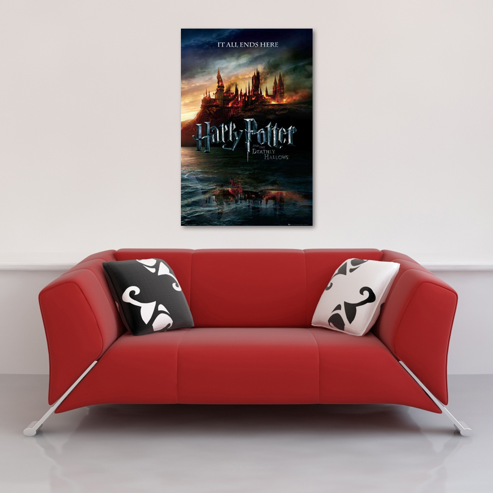 Harry Potter - Poster - 7 - Teaser Version 2 Vorschau Sofa