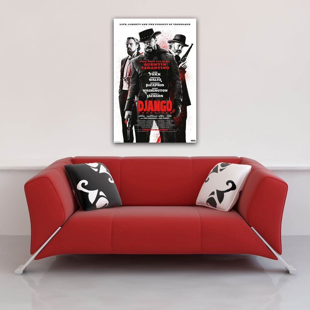 Django Unchained - Poster - Life,Liberty,Pursuit Of Vengeance Vorschau Sofa