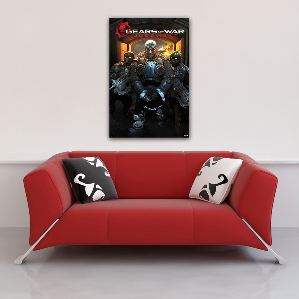 Gears Of War - Poster - Judgement - Handcuffed Vorschau Sofa