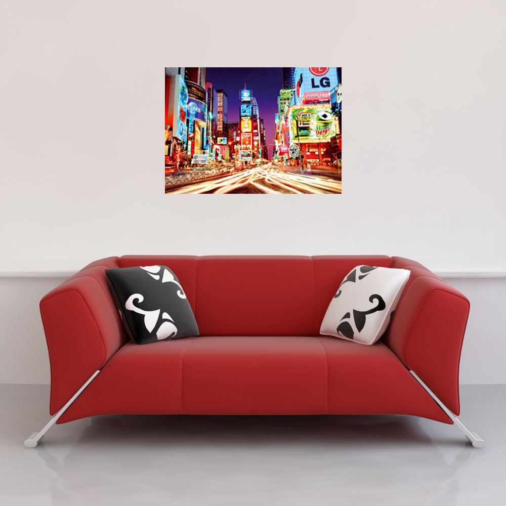 New York - Giant Poster - Times Square Vorschau Sofa