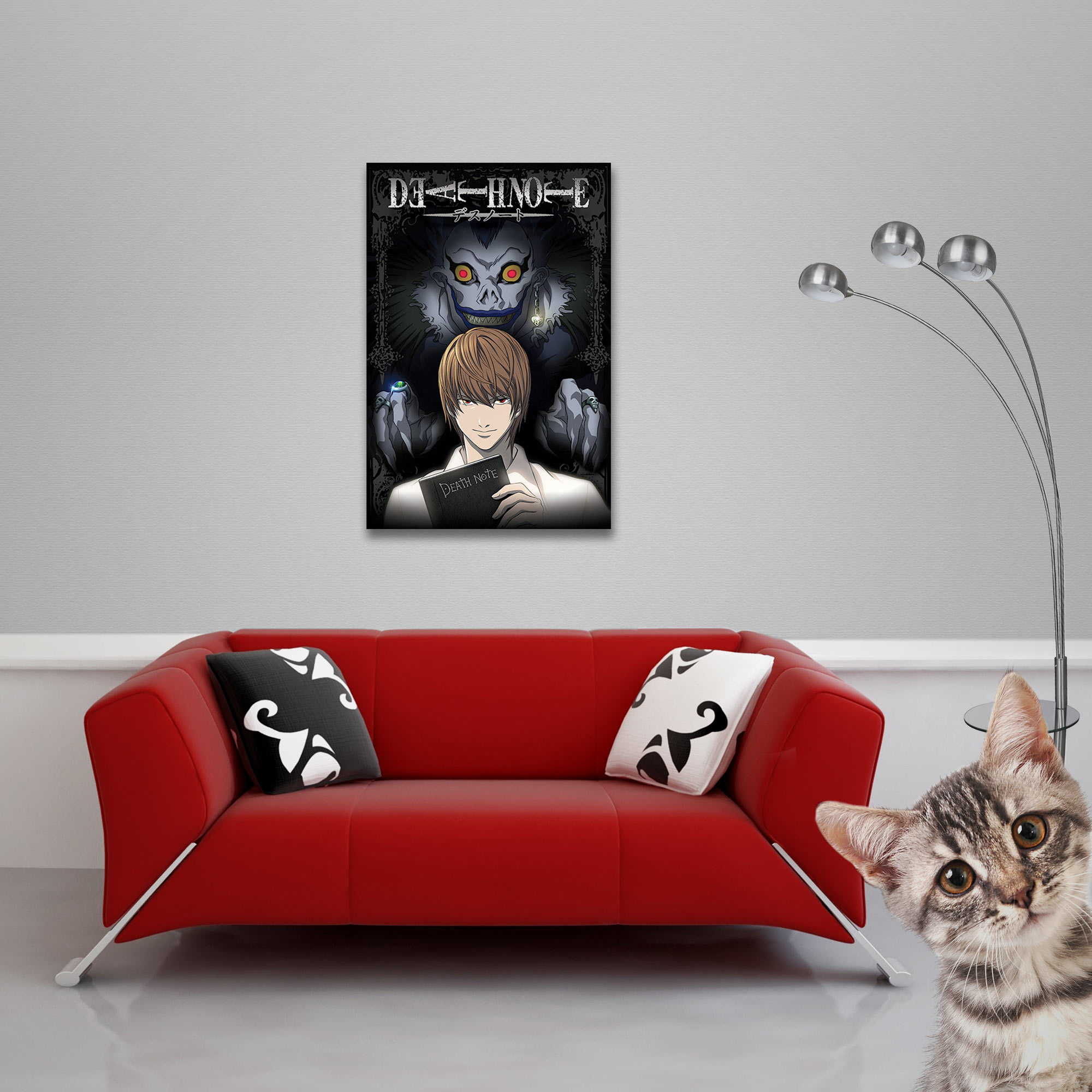 Death Note - Poster - From The Shadows Vorschau Sofa