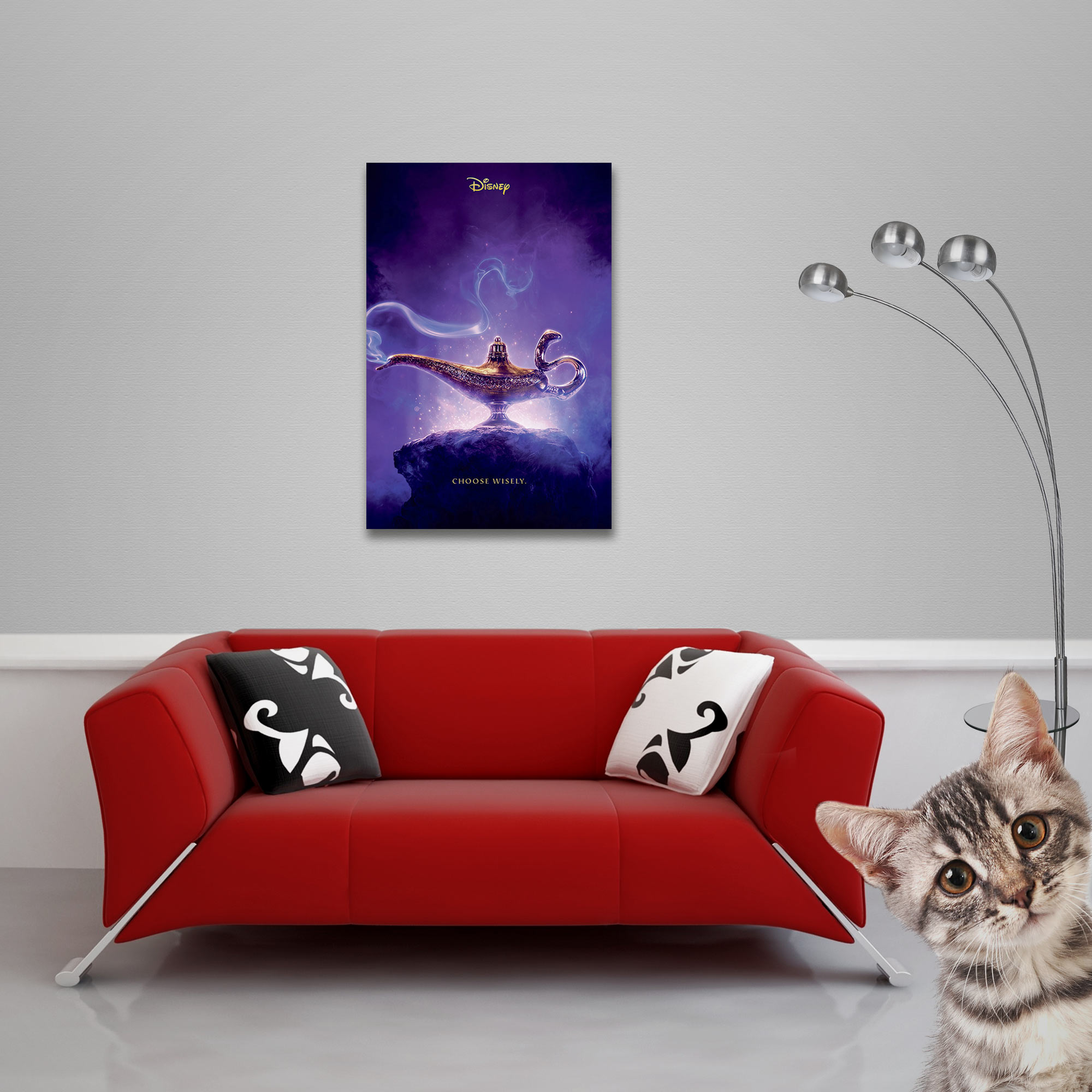 Aladdin - Poster - Movie - Choose Wisley Vorschau Sofa