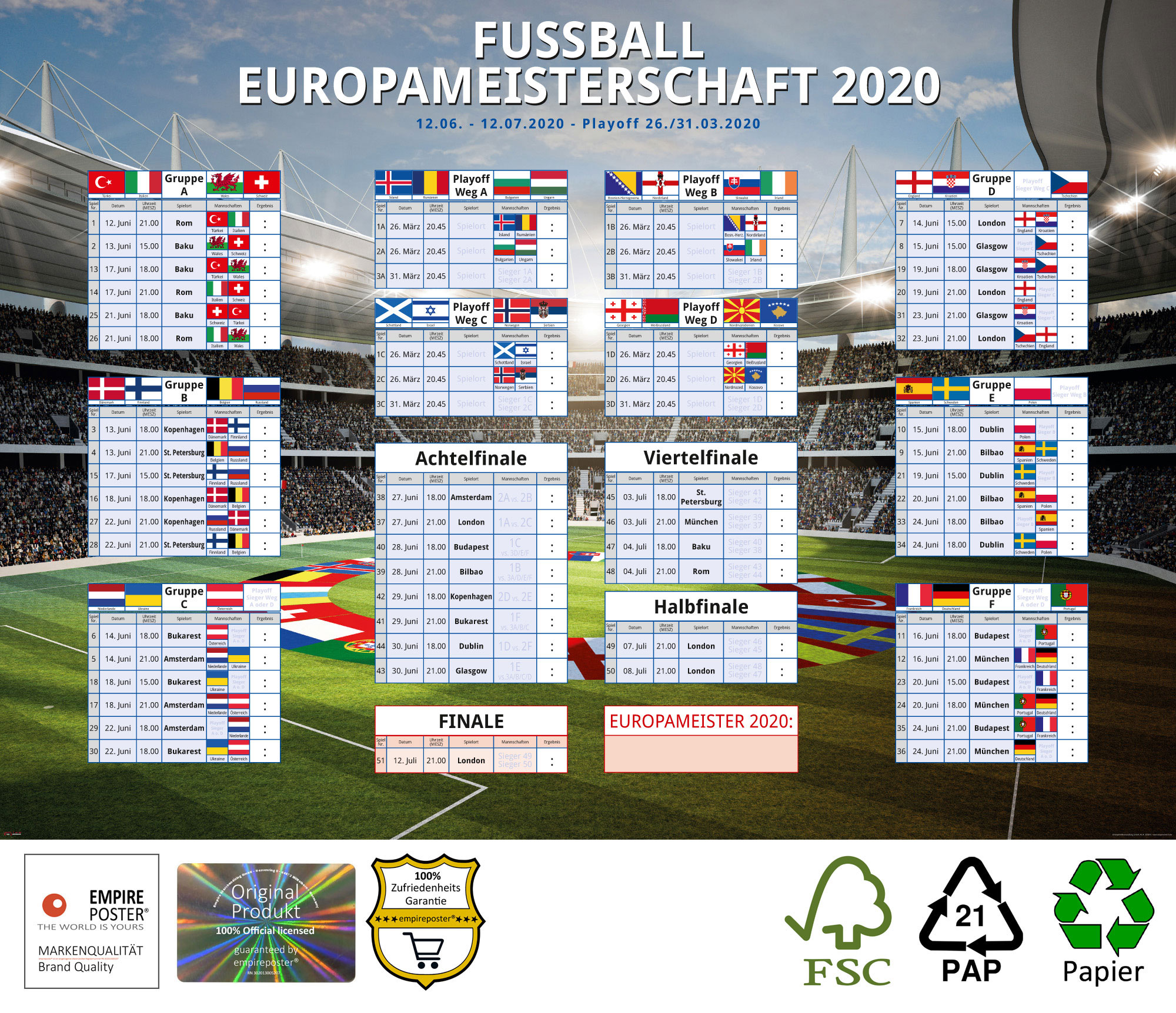 Uefa Em 2021 Ergebnisse & Spielplan