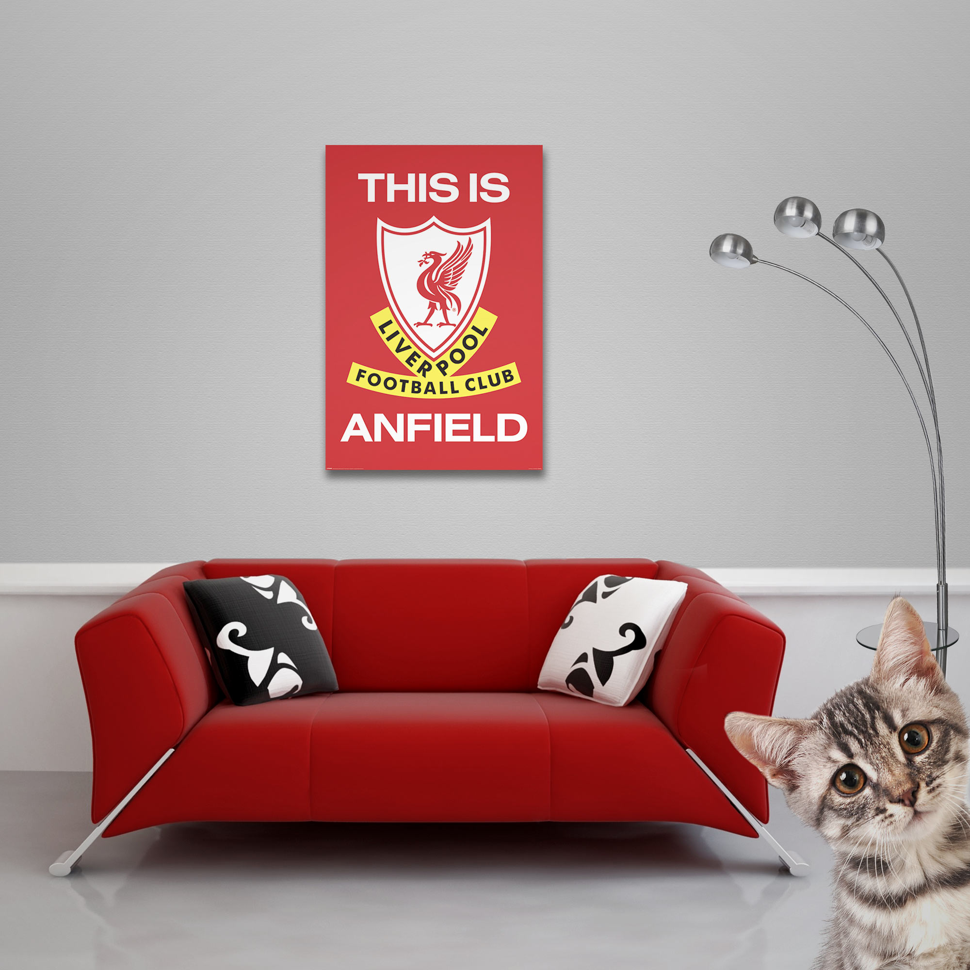 FC Liverpool - Poster - This Is Anfield Vorschau Sofa