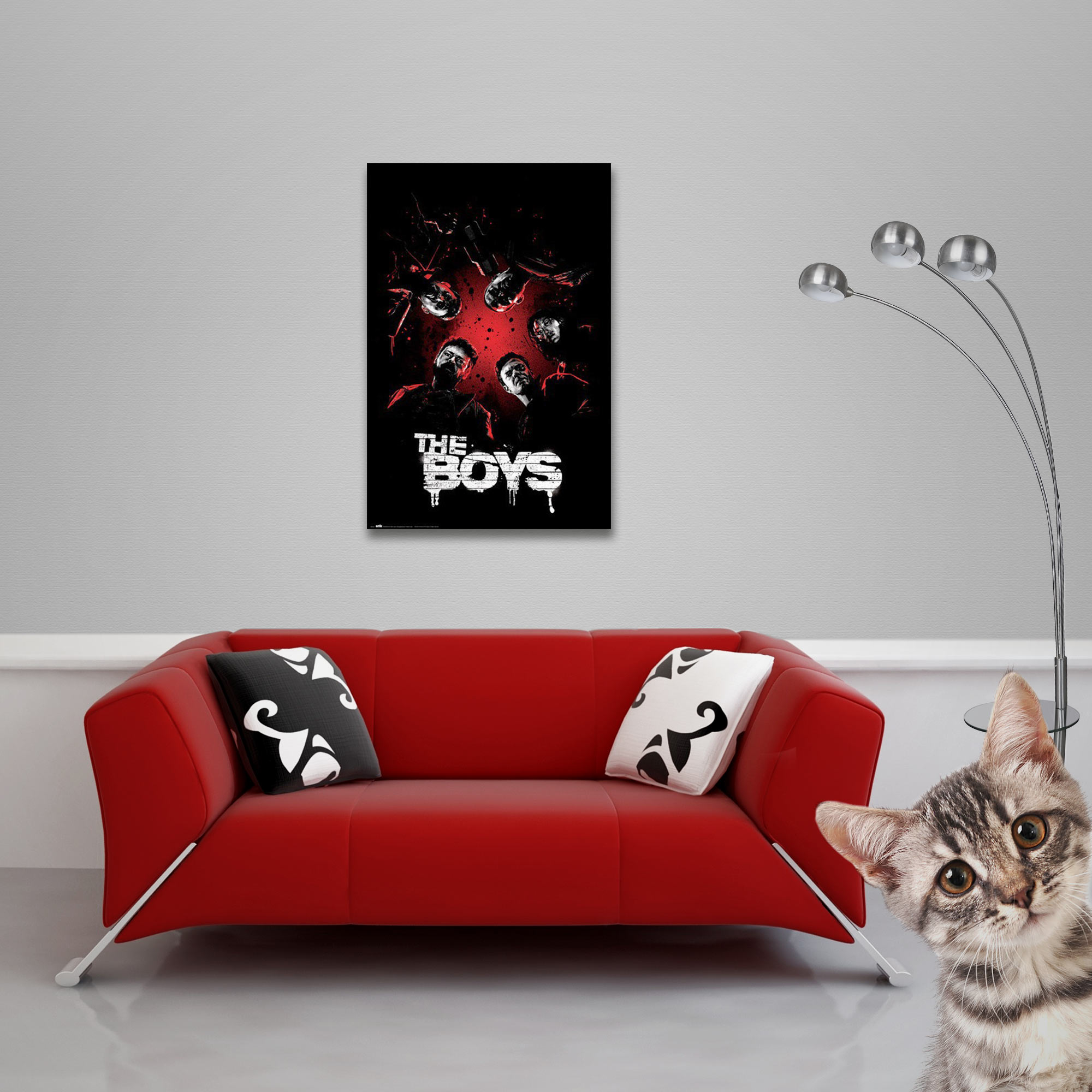 The Boys - Poster - One Sheet Vorschau Sofa