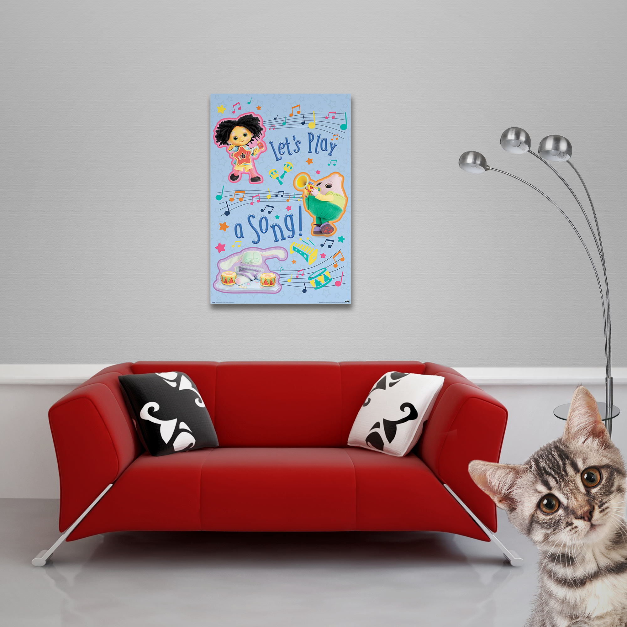 Moon and Me - Poster - Let's Play Vorschau Sofa