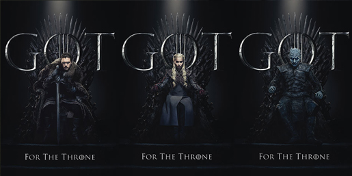 Poster - Game Of Thrones Final Season